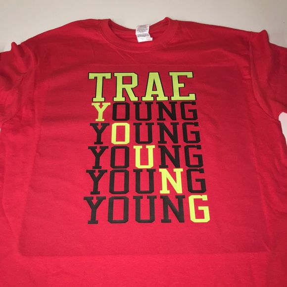 separation shoes 29fef feac6 Atlanta Hawks Trae Young Shirt